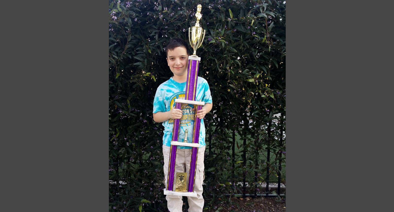 2018-Daniel-Shubin-National-Congress-U12-First-Place